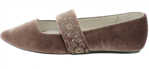 Bettye Muller Embroidered Strap Pointed Toe NEW S9373