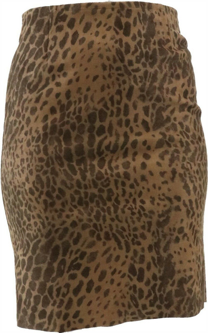 Vanessa Williams Faux Suede Pencil Skirt NEW 668-544