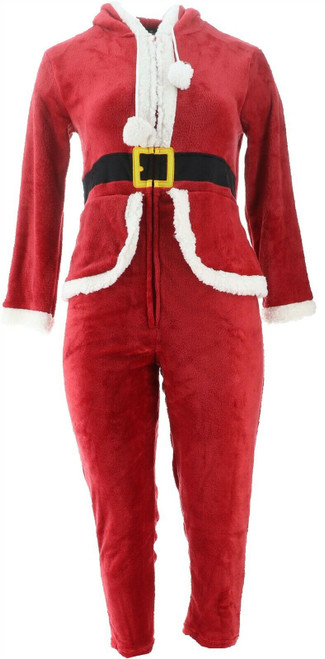 Soft Cozy Loungewear Super Soft Hooded Holiday Onesie NEW 620-696