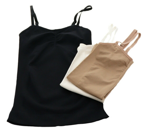 Nearly Nude Smothing Contouring Camisole 3Pc NEW 633-582