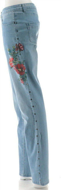 Women with Control My Wonder Denim Tall Novelty Jeans NEW A309512