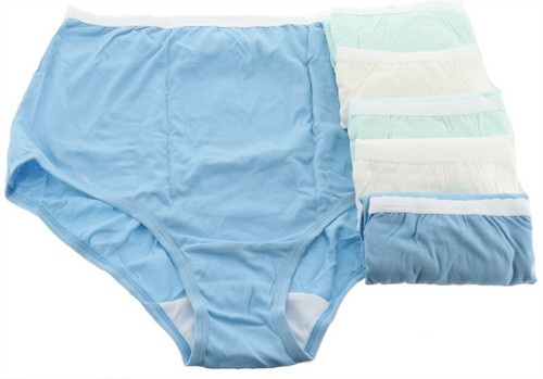Breezies Set 6 Cotton Brief PantiesUltimAir NEW A22766