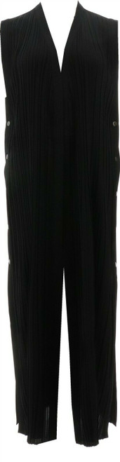 MarlaWynne Pleated Duster Snaps NEW 712-004