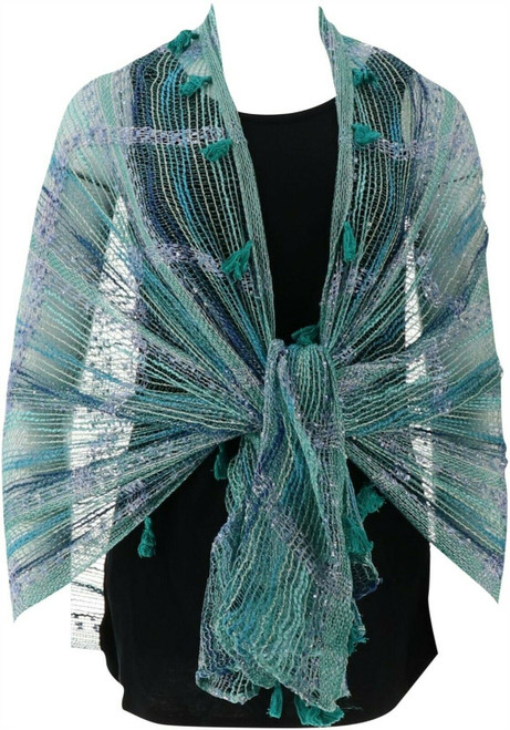 Collection 18 Space Dye Open-Weave Scarf NEW 604-459