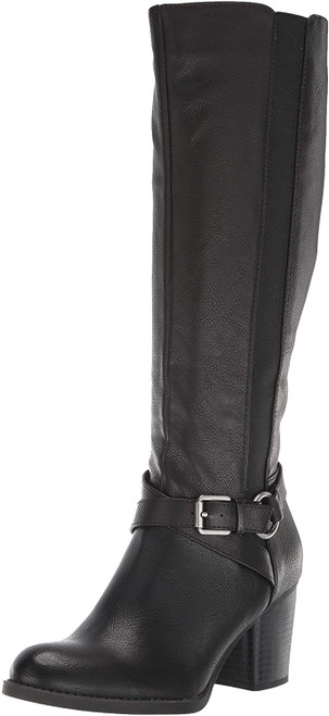 SOUL Naturalizer Women's Timber Knee High Boot 6.5W-WC Black NEW