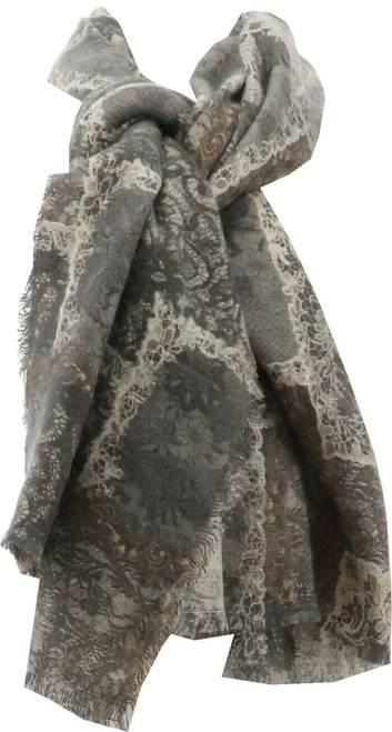 Curations Patchwork Scarf NEW 609-966