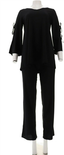 Antthony Knockout Tie-Slv Pant Set NEW 605-547