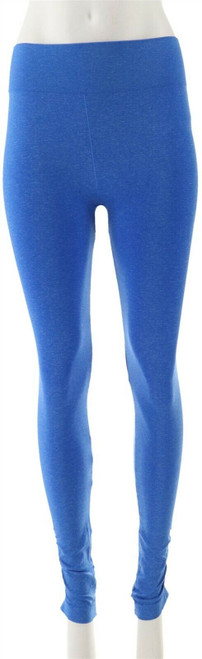 Legacy Seamless Heathered Ruched Ankle Leggings NEW A265954