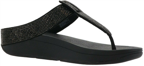 FitFlop Isabelle Crystal Toe Post Sandal NEW 691-176