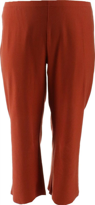 Wynne Layers Straight Cropped Crepe Pant NEW 634-299