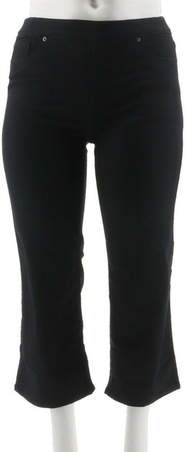 Women with Control My Wonder Wide Leg Crop Jeans NEW A290796