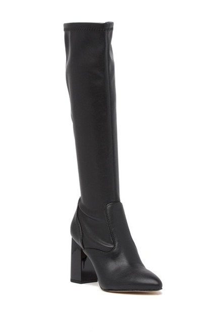 Franco Sarto Katalina Over-The-Knee Boot 9M Black NEW