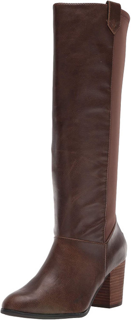 Dr. Scholl's Shoes Women's A-Okay Knee High Boot 7M Chocolate Brown Smooth NEW