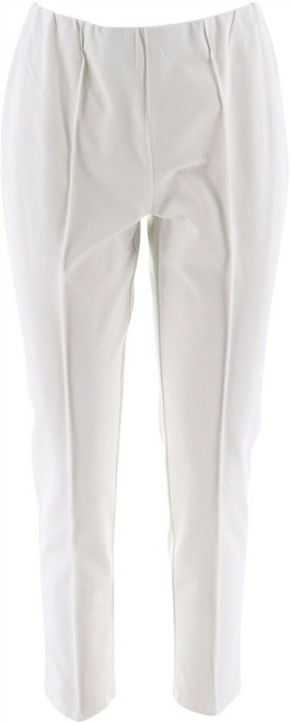Isaac Mizrahi 24/7 Stretch Ankle Pants Seam NEW A275585