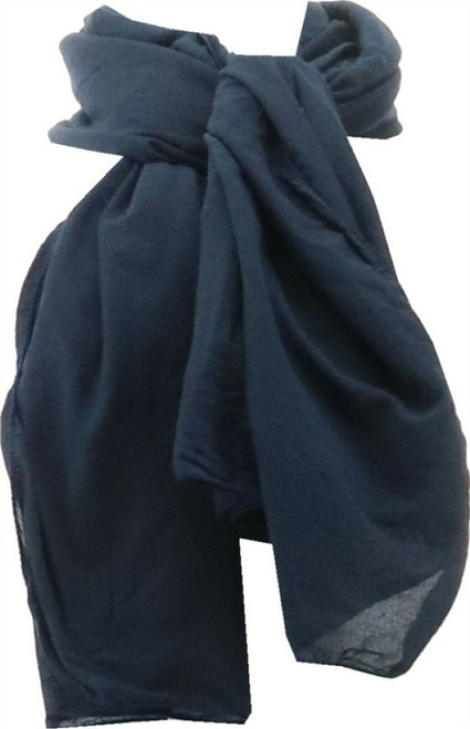 Barbara King Insect Repelling Scarf Insect Shield Royal Blue NEW M58405