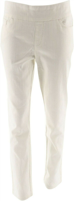 Denim & Co How Smooth Colored Denim Ankle Pant NEW A286115