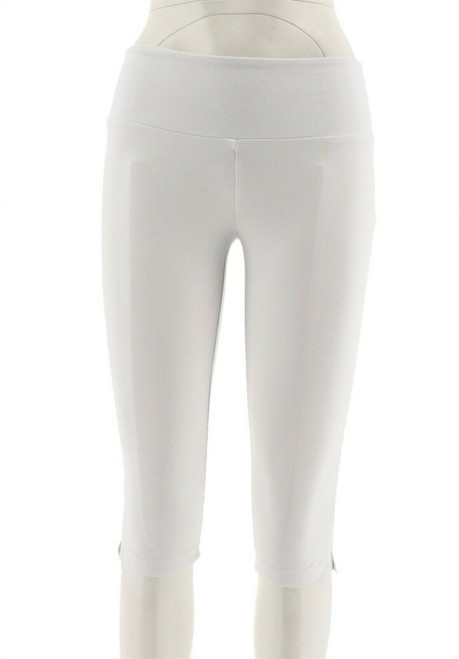 Women with Control Petite Tummy Control Pedal Pushers NEW A277524