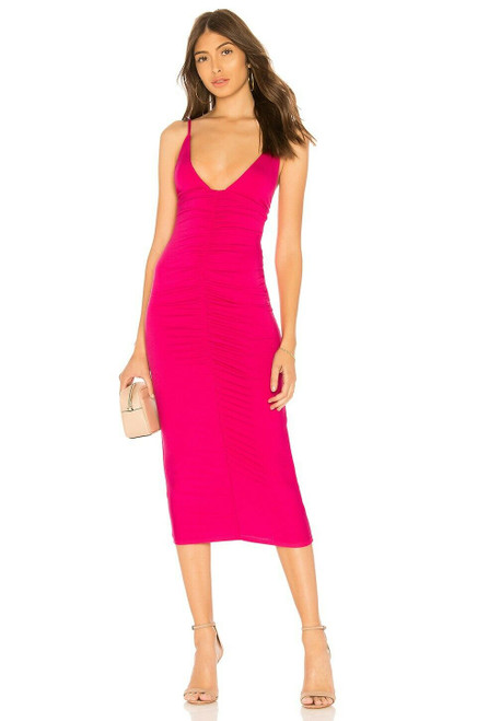 Clayton Abbey Dress M Hibiscus NEW CLYN-WD257