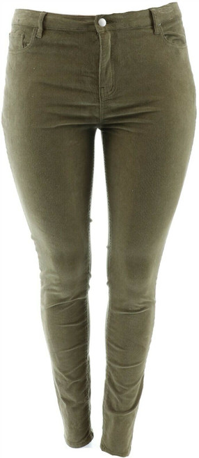 Simply Styled Women's Skinny Corduroy Pants 6 Apple Butter NEW