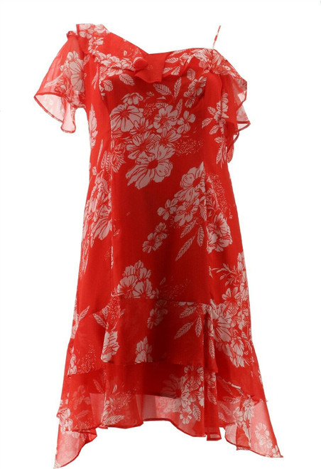 Colleen Lopez One Shoulder Ruffle Dress NEW 701-339