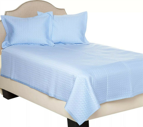 Northern Nights Rayon Bamboo Cotton Filled Queen Coverlet H210820