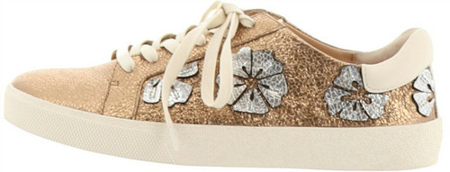 Vince Camuto Leather Lace Up Sneakers Claudinia A306241