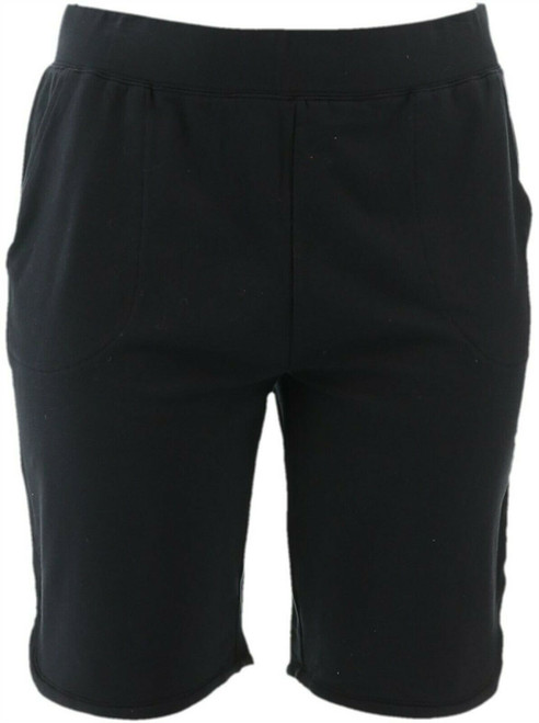 Denim& Co French Terry Pull-On Shorts 11\ Inseam A351340