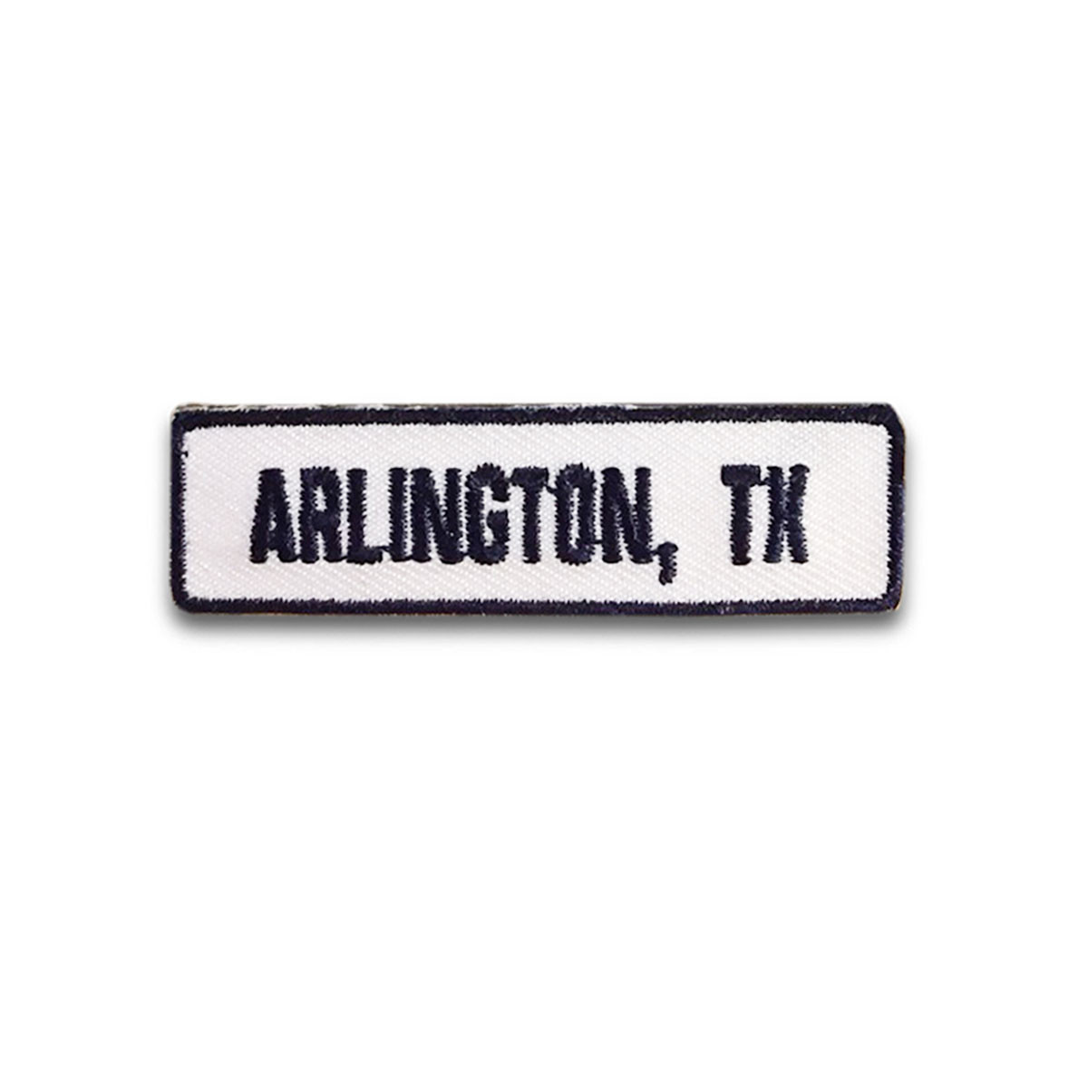 Arlington, TX Rocker Patch