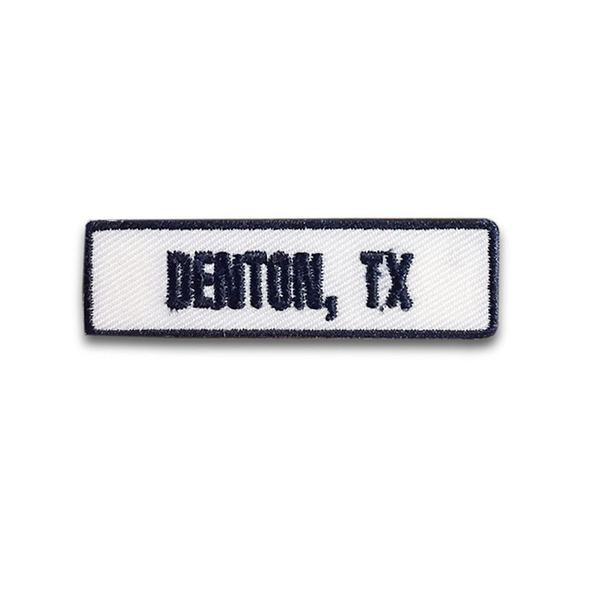Denton, TX Rocker Patch