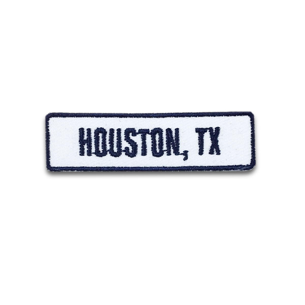 Houston, TX Rocker Patch