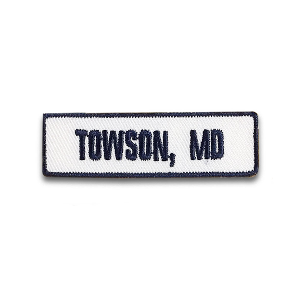 Towson, MD Rocker Patch