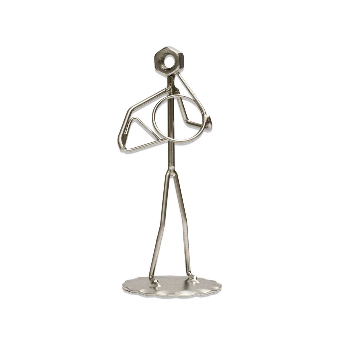 French Horn Metal Figure