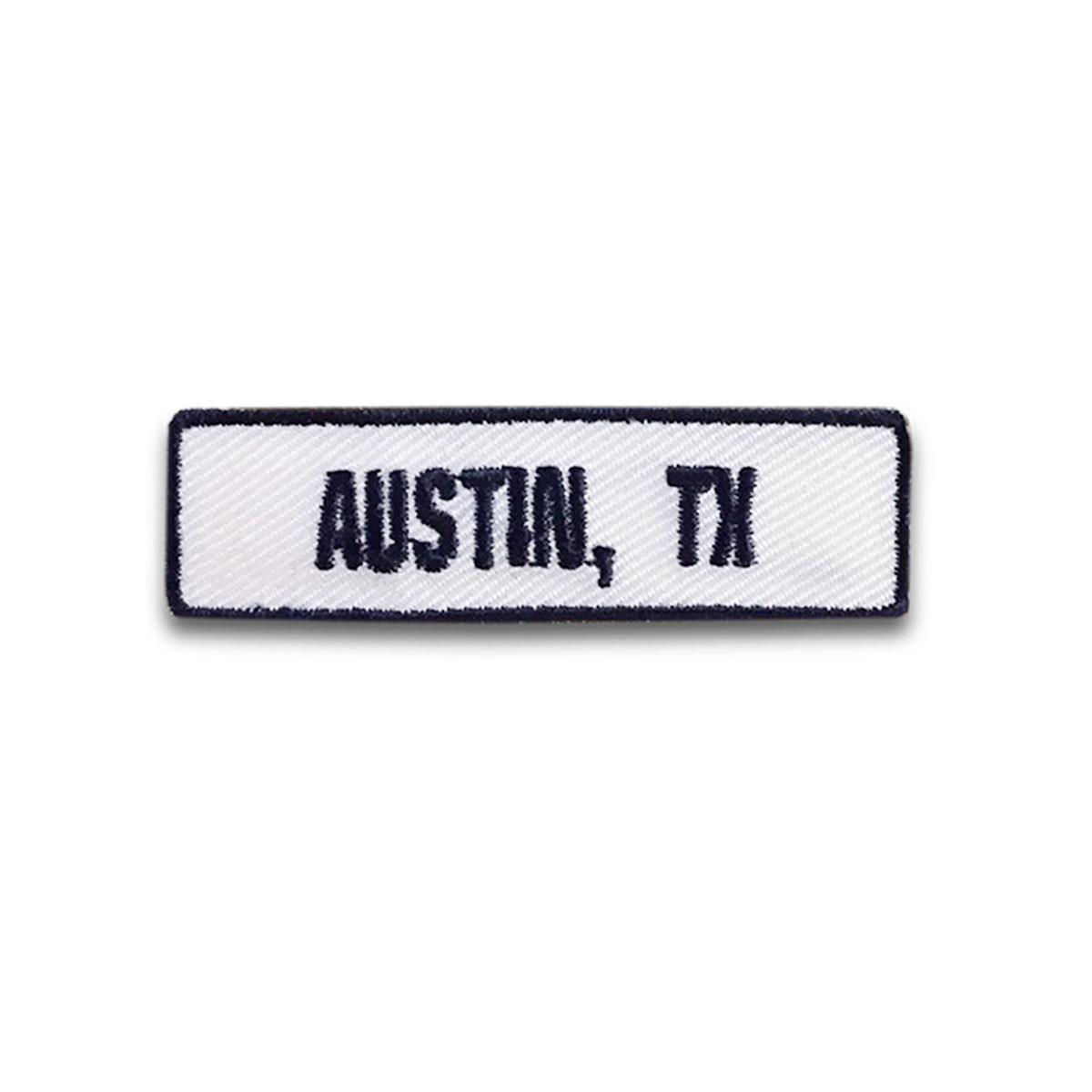 Austin, TX Rocker Patch