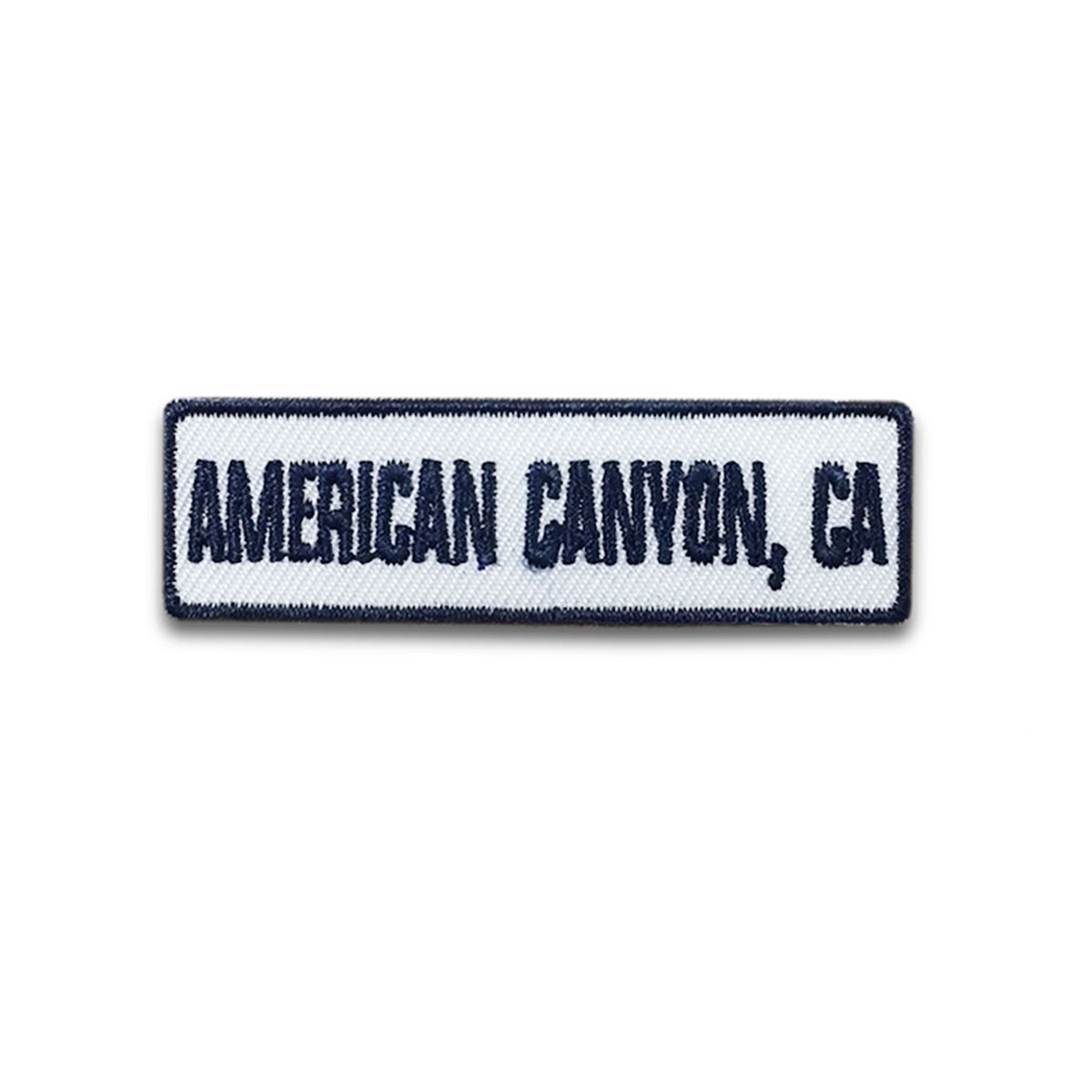 American Canyon, CA Rocker Patch