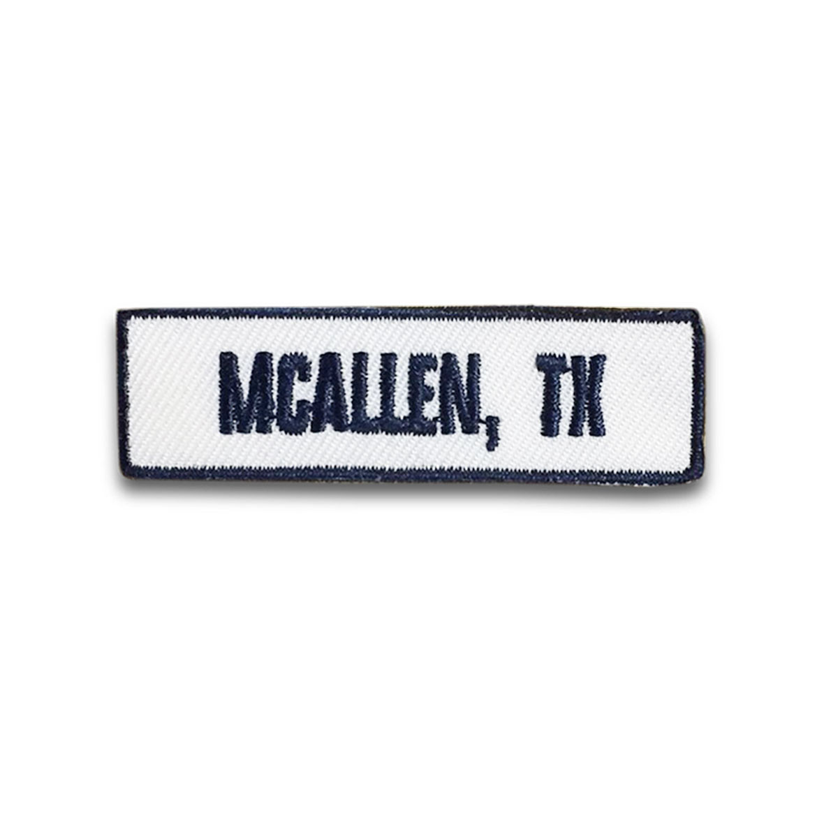 McAllen, TX Rocker Patch