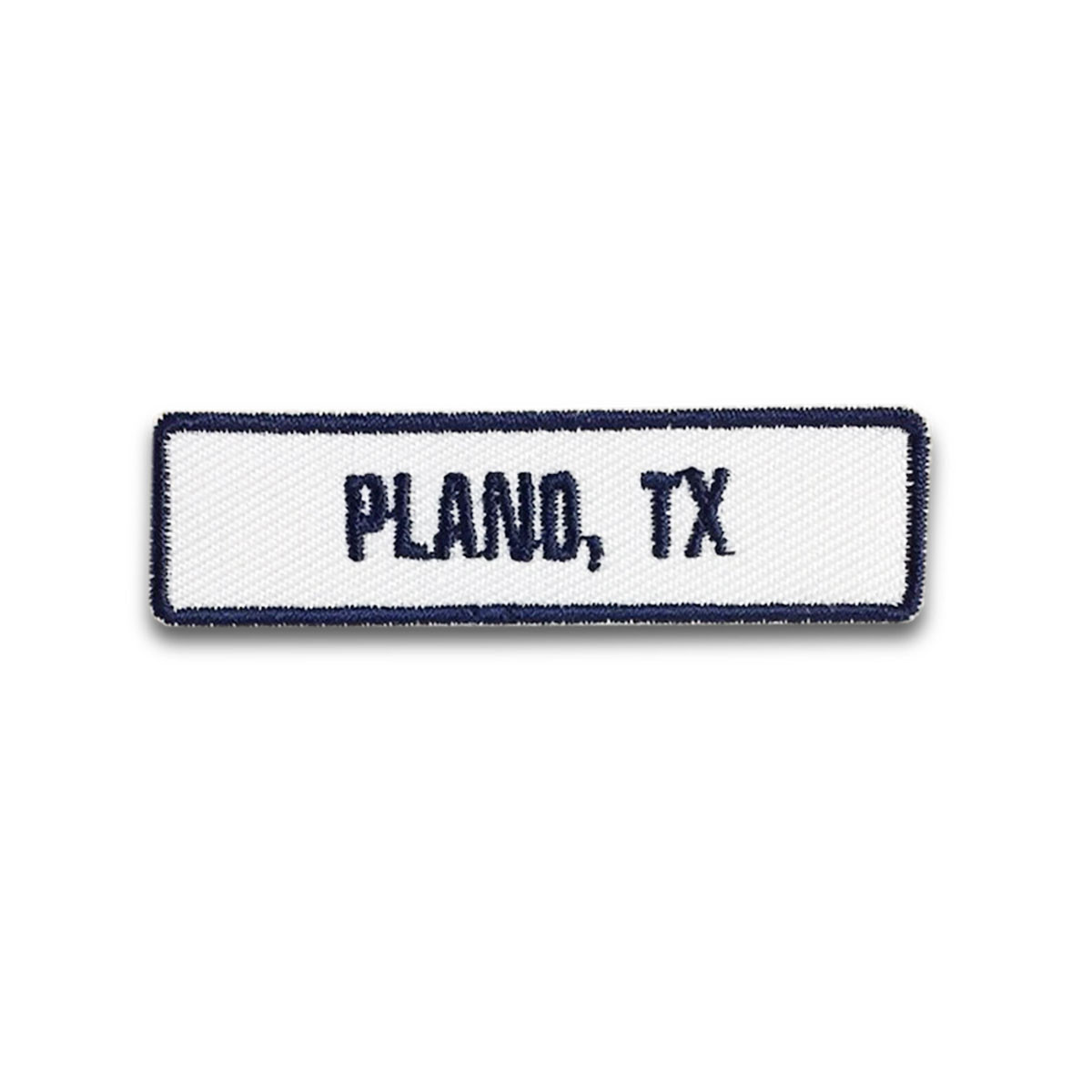 Plano, TX Rocker Patch