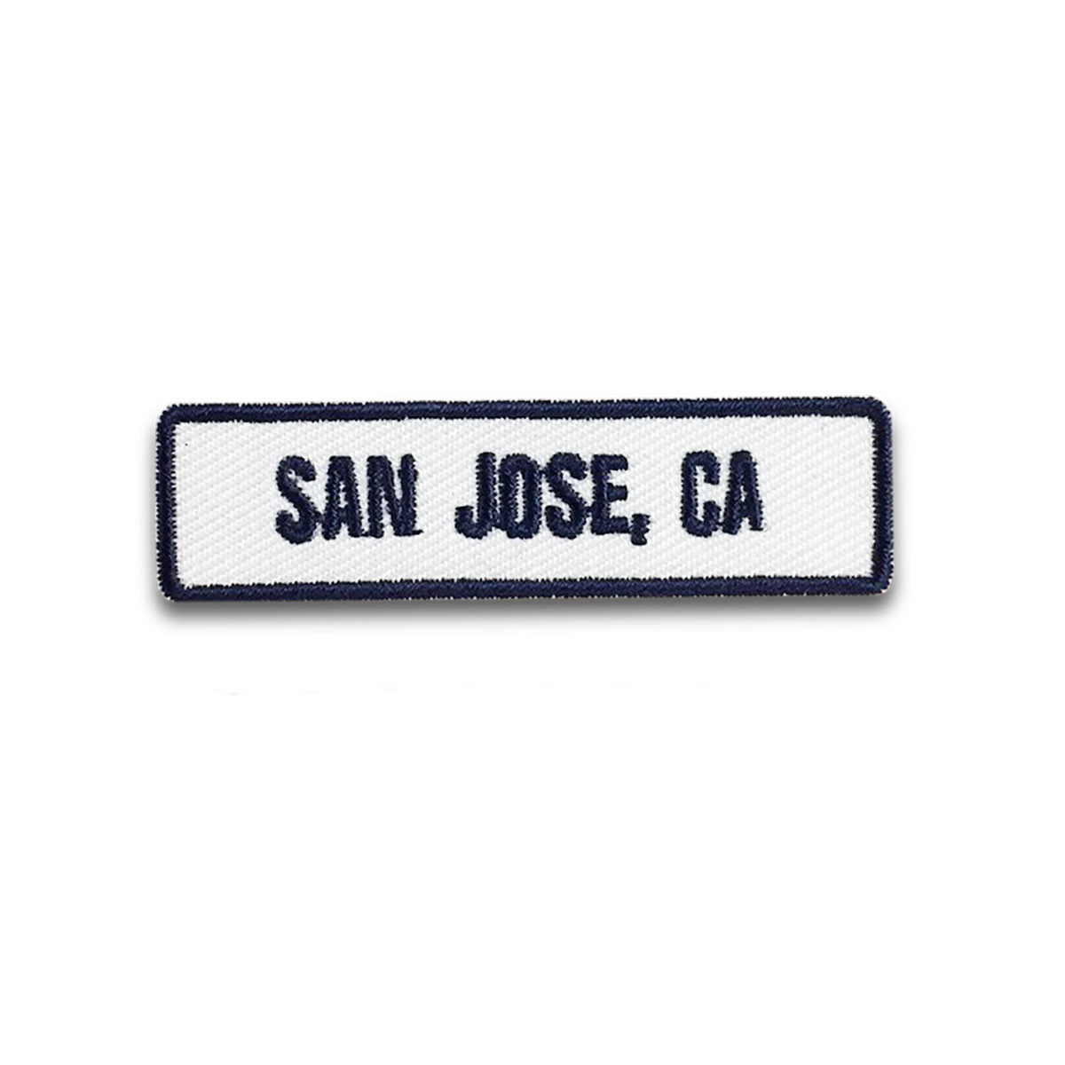 San Jose, CA Rocker Patch