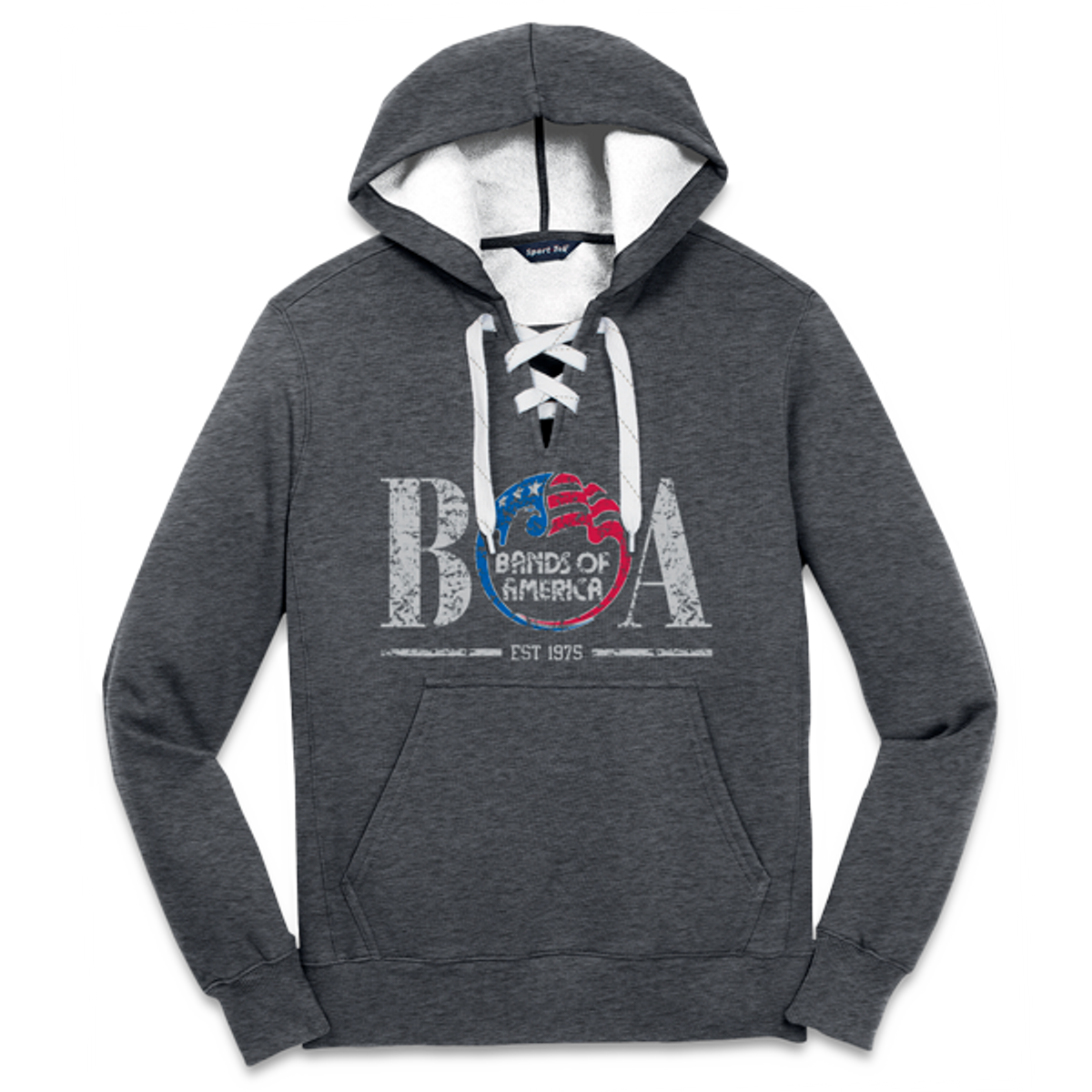 BOA Lace-Up Hoodie