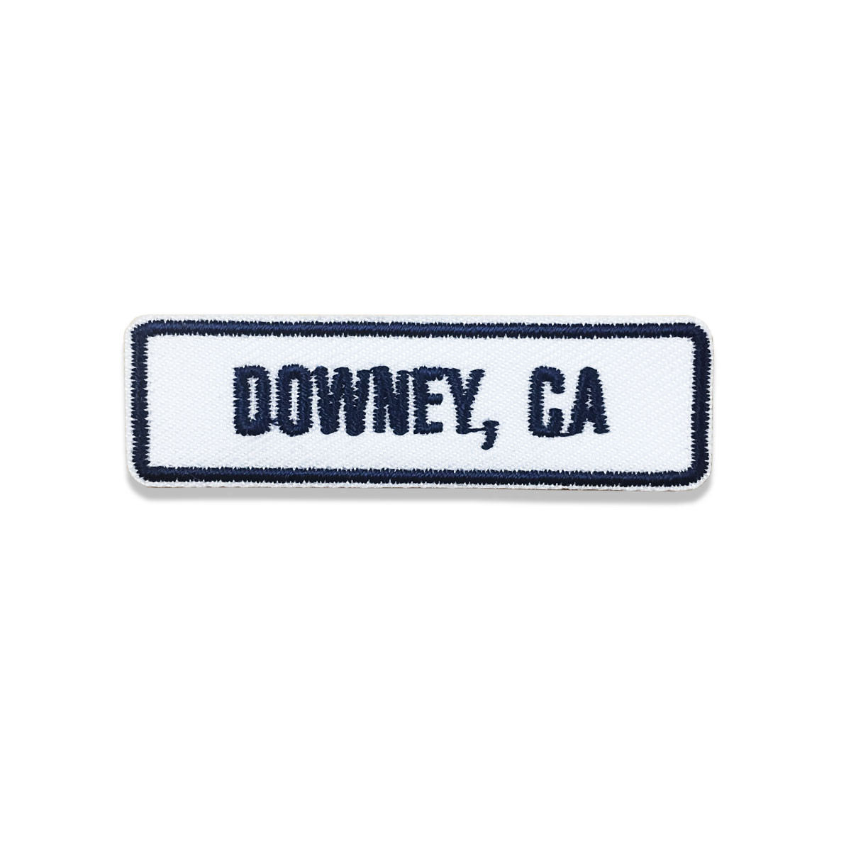 Downey, CA Rocker Patch