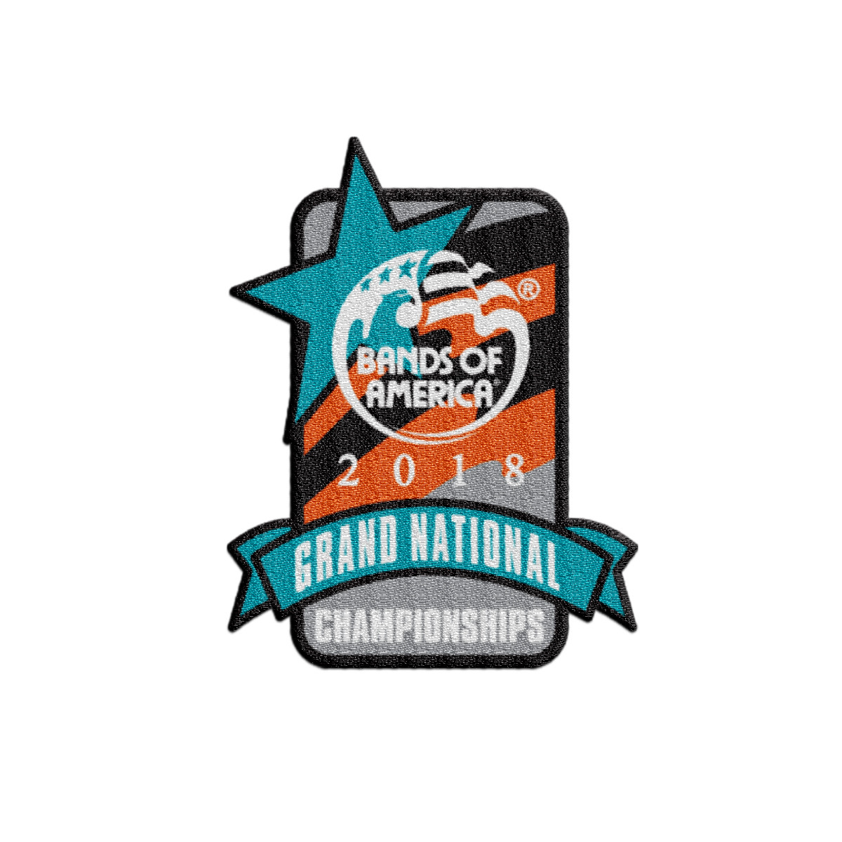 2018 Grand National Championship Patch