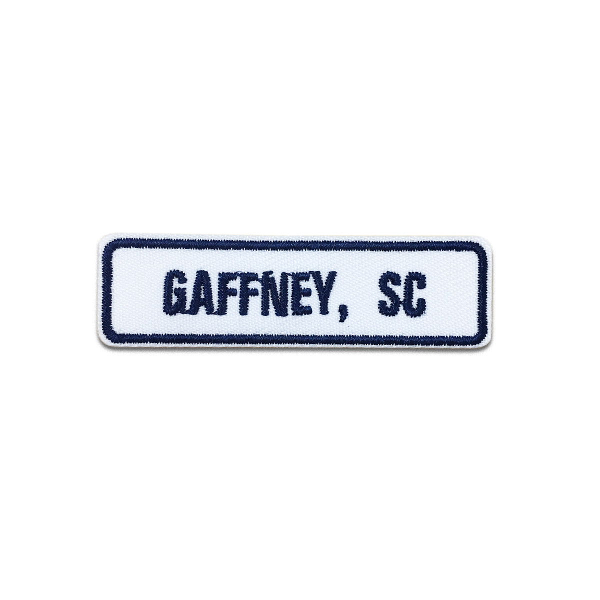 Gaffney, SC Rocker Patch