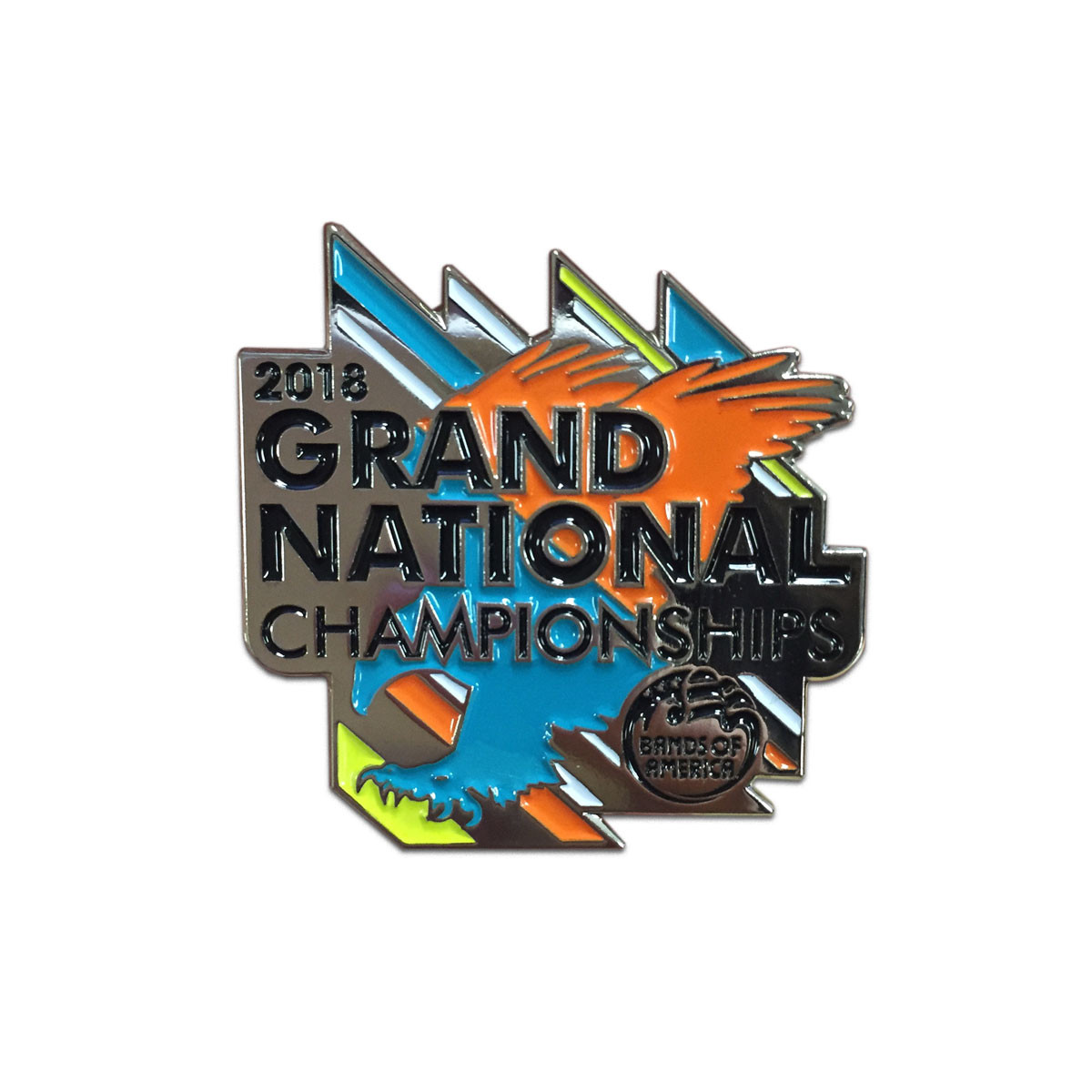 2018 Grand National Championship Pin