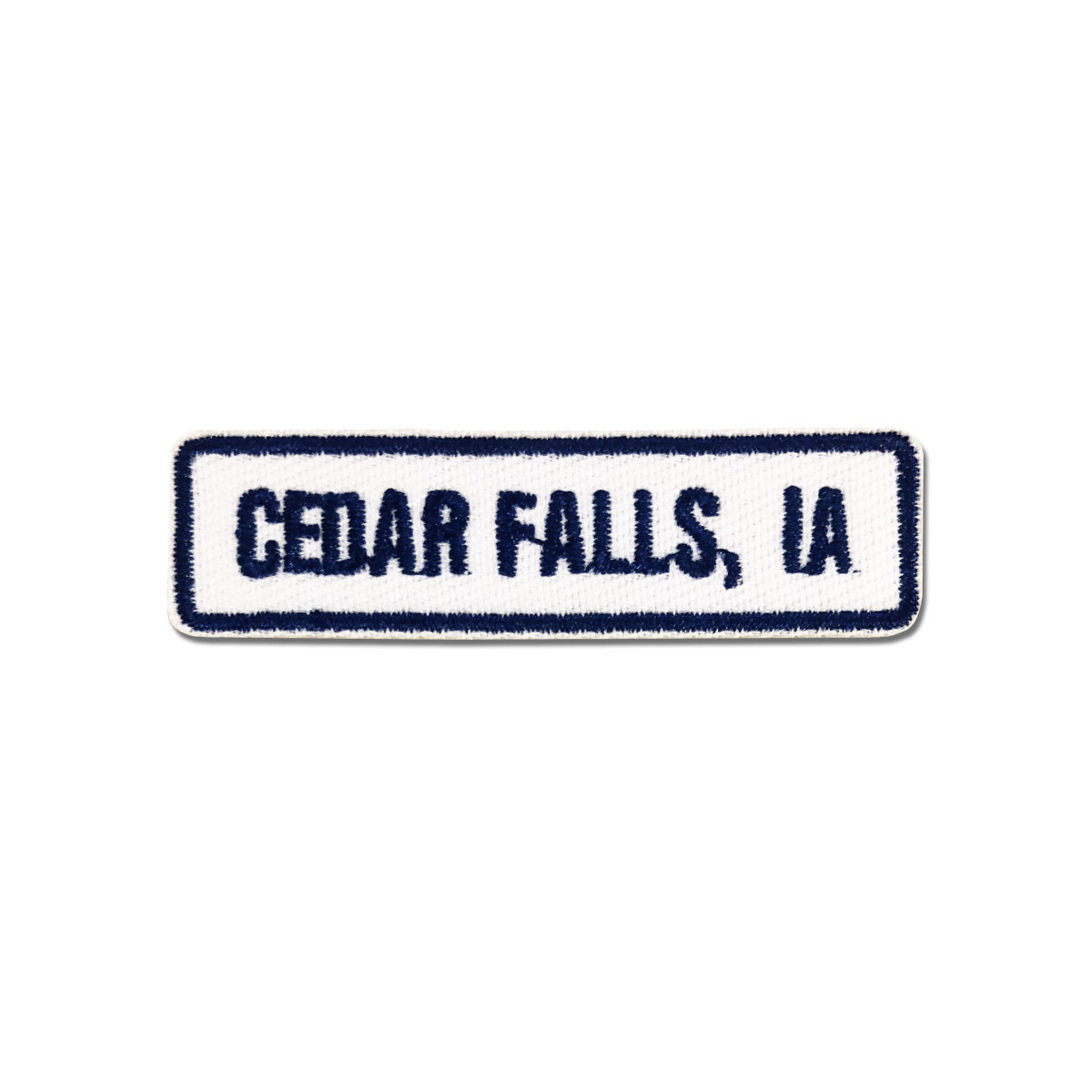 Cedar Falls, IA Rocker Patch
