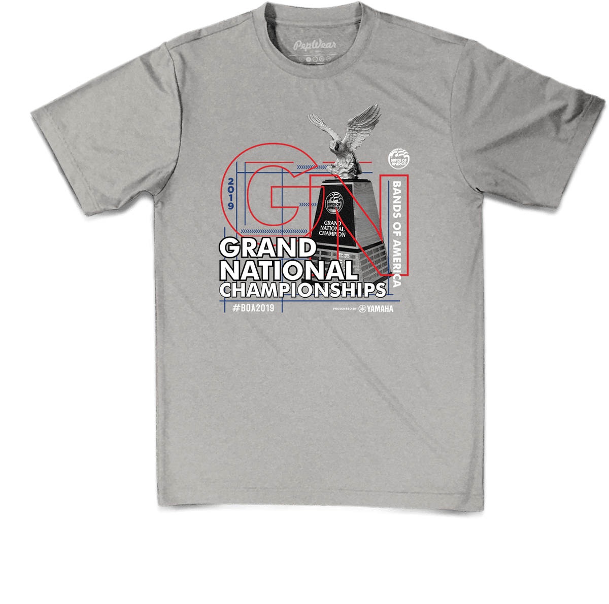 2019 BOA Grand Nationals Performance T-Shirt