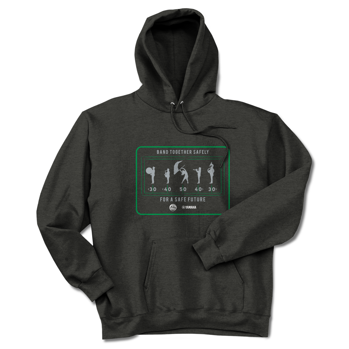 Limited Edition: Band Together Safely Hoodie