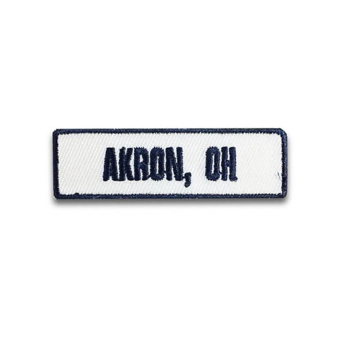 Akron, OH Rocker Patch
