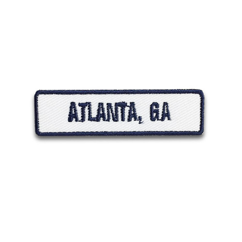 Atlanta, GA Rocker Patch