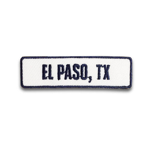 El Paso, TX Rocker Patch