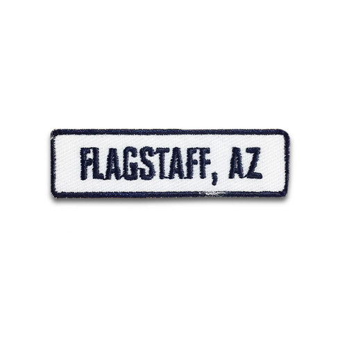 Flagstaff, AZ Rocker Patch