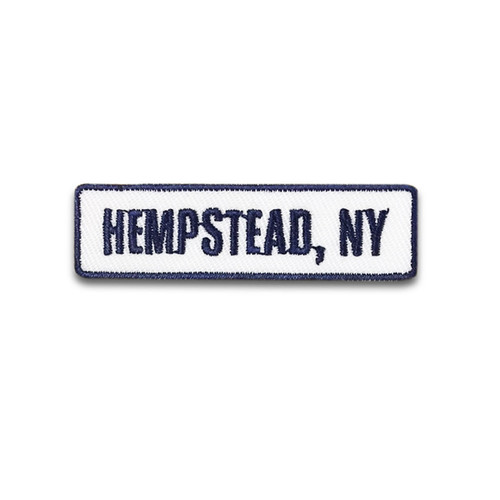 Hempstead, NY Rocker Patch